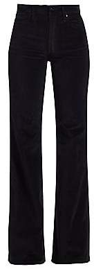 Joe's Jeans Women's Molly High-Rise Flare Velvet Jeans