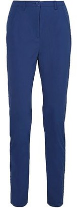 Tomas Maier Stretch-cotton Poplin Straight-leg Pants