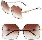 Wildfox Couture Women's Fontaine Oversized Metal Frame Sunglasses
