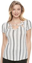 Candies Juniors' Candie's® Strappy Cutout Top