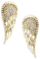 House Of Harlow Pave Wing Clip-On Earrings