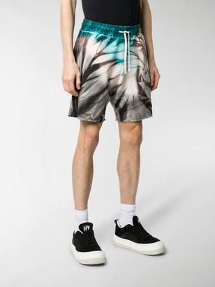Paura Tie-Dye Cotton Shorts
