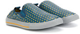 Stella McCartney star detailed slip-on sneakers - kids - Leather/Polyester/rubber - 24