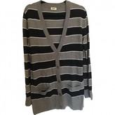 L'Agence Grey Silk Knitwear for Women
