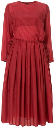 Sara Lanzi Pleated Detail Dress