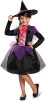 Disguise Black & Purple Witch Dress-Up Set - Kids