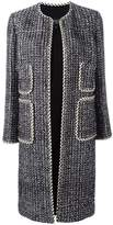 Giambattista Valli patch pocket open coat