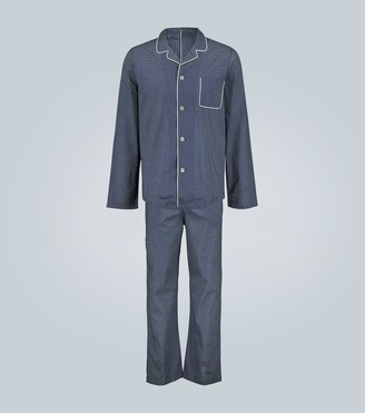 Derek Rose Plaza 21 dot-print cotton pajamas