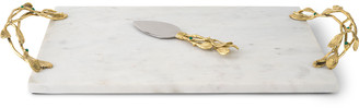 Michael Aram Mistletoe Cheese Board with Spreader