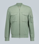 Harris Wharf London Technical bomber jacket