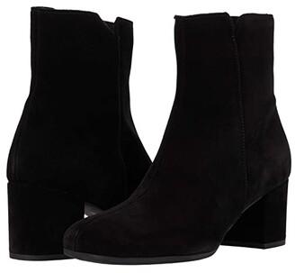 La Canadienne Juni (Black Suede/Black Snake) Women's Boots