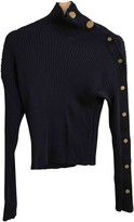 Mauro Grifoni Blue Wool Top for Women