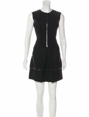Prada Wool Mini Dress Wool