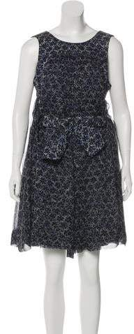 Chanel Camellia Print Sleeveless Romper