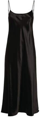 Vince Strappy Slip Midi Dress