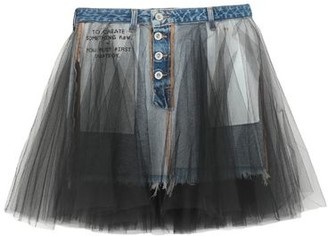 Taverniti So BEN UNRAVEL PROJECT Denim skirt