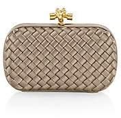 Bottega Veneta Women's Knot Satin Clutch