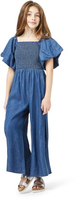 Habitual Bubble Smocked Jumpsuit