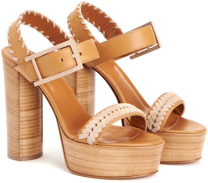 Aquatalia Isabella Waterproof Leather Sandal