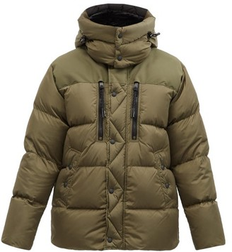 Polo Ralph Lauren Garston Hooded Quilted Recycled-nylon Down Jacket - Khaki