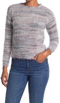 Love by Design Multi Eyelash Knit Scoop Neck Sweater