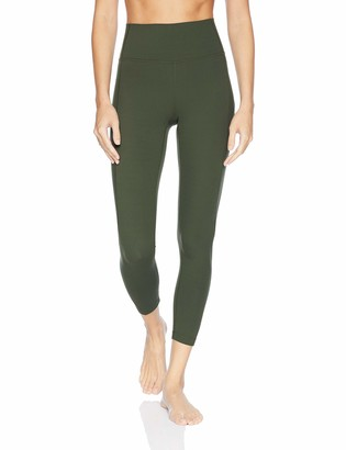 Core 10 Amazon Brand Women's Nearly Naked Yoga High Waist 7/8 Crop Legging-24""