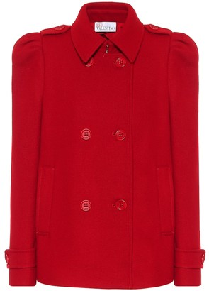 RED Valentino Wool and cashmere-blend jacket