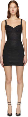 Dolce & Gabbana Black Lace Bustier Dress