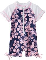 Snapper Rock Girls' S/S One Piece Sunsuit (024mos) - 8155113