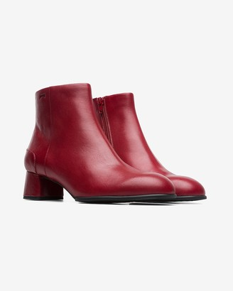 Express Camper Katie Red Ankle Boot