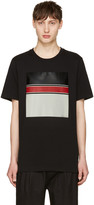 Rag & Bone Black Block Print T-shirt