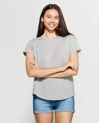Vince Rounded Hem Tee