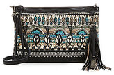 Sakroots Seni Tasseled Canvas Cross-Body Clutch
