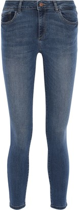 DL1961 Florence Cropped Low-rise Skinny Jeans