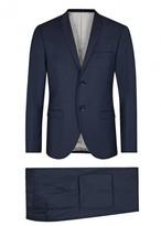 Tiger Of Sweden Tonic Navy Wool Blend Suit