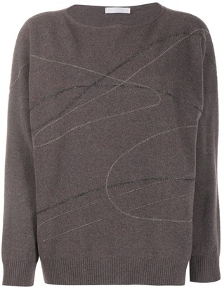 Fabiana Filippi Chain-Link Scribble Jumper