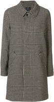 A.P.C. houndstooth checked coat