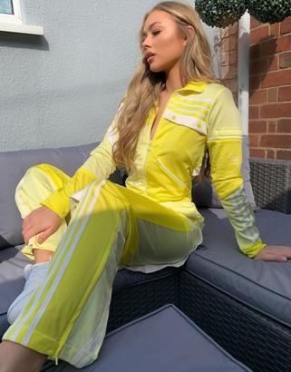 adidas x Danielle Cathari track bottoms in yellow