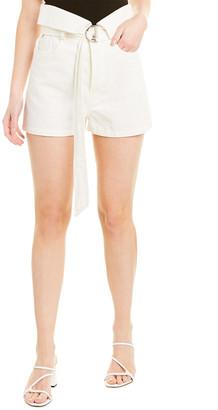 IRO Pezarti Linen-Blend Mini Short