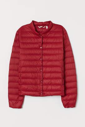 H&M Lightweight Down Jacket - Red