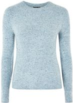 Topshop TALL Stretch Ribbed Crew Neck Jumper