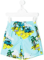 Vilebrequin Kids - Sunny Car swim shorts - kids - Cotton/Polyamide/polyester - 2 yrs