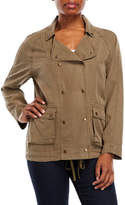 Velvet Heart Tencel Military Jacket