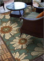 COVINGTON HOME Montego Blossoms Indoor/Outdoor Runner Rug