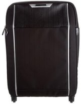 Samsonite Leather-Trimmed Shell Luggage