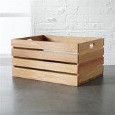 CB2 Eucalyptus Small Storage Box