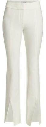 Derek Lam 10 Crosby Maeve Slit-Hem Flare Trousers