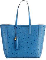 Cole Haan Natalie Laser-Cut Floral Tote Bag