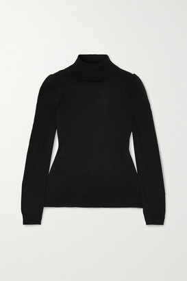 Madeleine Thompson Cashmere Turtleneck Sweater - Black