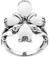 Carolyn Pollack Sterling Cross Gemstone Ring